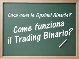 Trading binario funziona